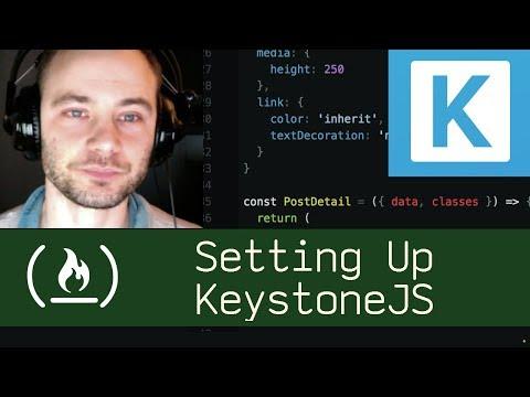 Setting Up KeystoneJS (P5D10) - Live Coding with Jesse