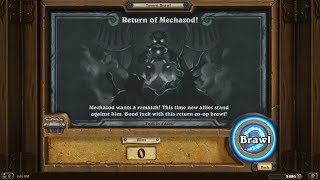Hearthstone Brawl - Co op vs Mechazod
