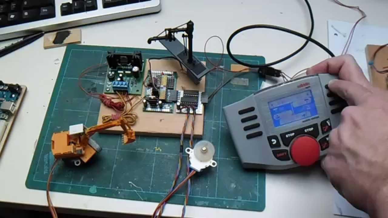 Arduino DCC-Dekoder Test MoBaTools