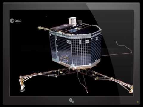 European Space Agency SMASHES the Rosetta spacecraft into Comet 67/p