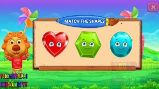 Let's Learn and Play in Colors and Shapes | Learning | Entertainment for Kids | Apps and Games