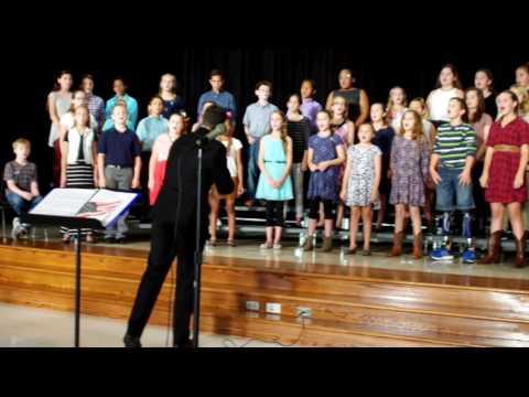 Northpointe Intermediate School 2016 Fall Choir Show Part 1