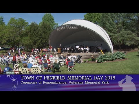 2016 Memorial Day Ceremony of Remembrance (Penfield)