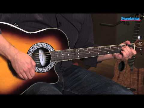 Ovation 1771VL -1 Acoustic-electric Guitar Demo - Sweetwater Sound
