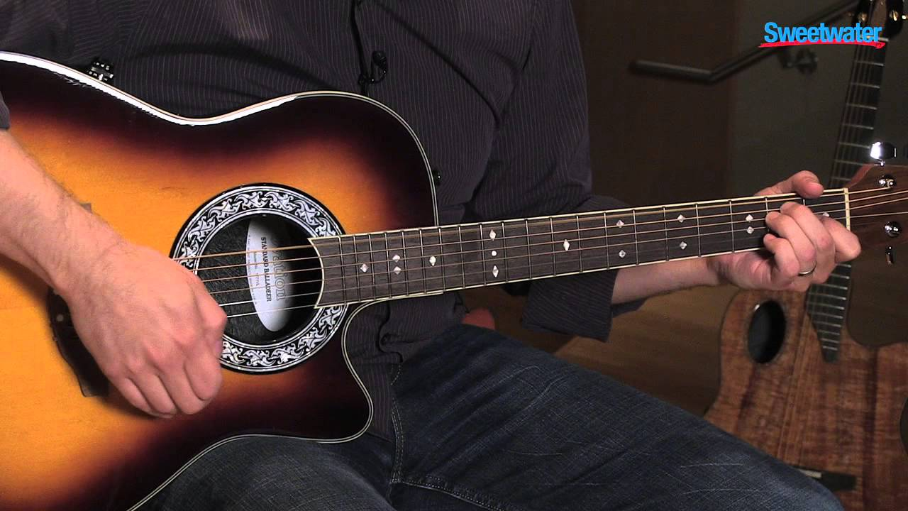 ovation 1771vl 1 acoustic electric guitar demo sweetwater sound youtube. Black Bedroom Furniture Sets. Home Design Ideas