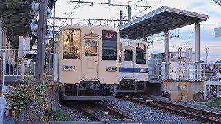 【8000型】東武越生線  一本松着発③