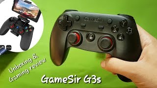 GameSir G3s Bluetooth wireless controller : Unboxing & full gaming review | Hindi