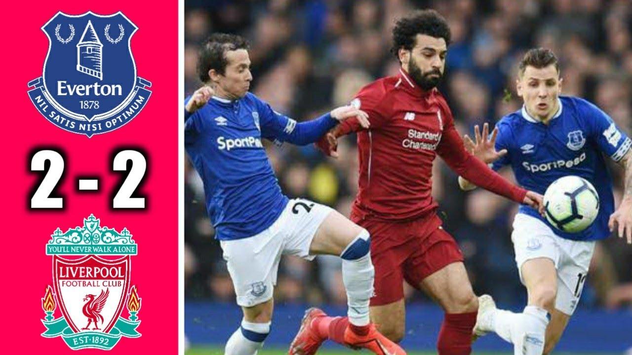 Hasil Pertandingan Everton Vs Liverpool 2 2 Hasil Bola Tadi Malam Premier League 2020 2021 Youtube