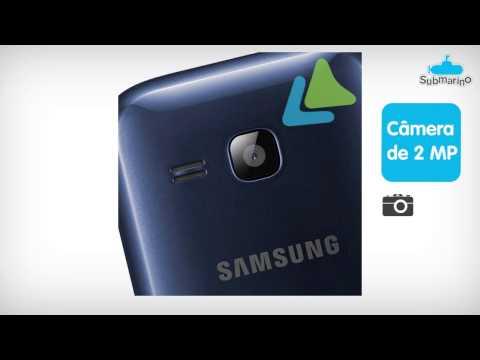 Celular Dual Chip Samsung Rex 60 com TV Digital | Submarino.com.br