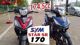 SYM Star SR 170 ▶ Tổng quan 2 màu sản phẩm 174,5cc