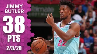 Jimmy Butler drops 38 points vs. former team in 76ers vs. Heat | 2019-20 NBA Highlights
