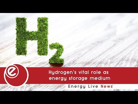 Hydrogen's vital role as energy storage medium