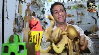 """بالفيديو.. ناصر نصيف """"فنان الخشب"""""""