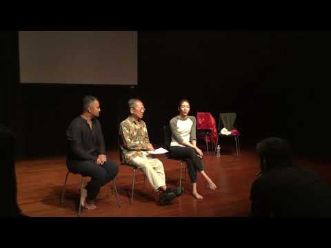 """Post-show discussion of """"Intersections: Traditionally Speaking"""" with moderator Dr Chua Soo Pong."""
