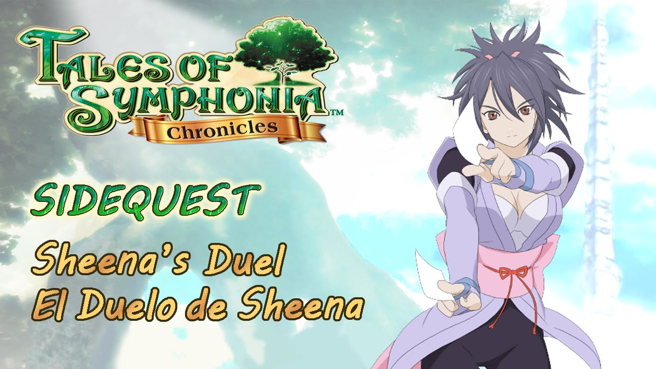 Tales Of Symphonia Hd Sidequest Sheena S Duel Kuchinawa