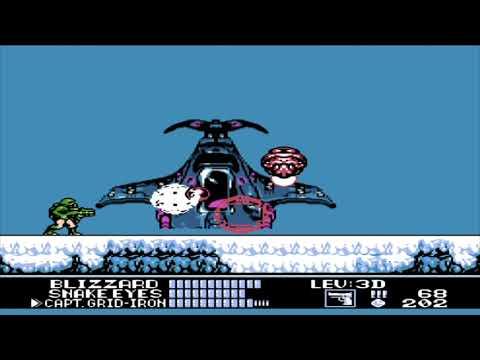 Бросок кобры прохождение, G.I. Joe walkthrough NES,Dendy [043]