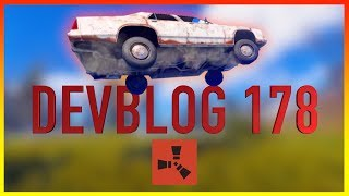 Rust Academy: UPDATE 178 | CARS, MOUNTING CHAIRS, & GAME BREAKING GLITCH