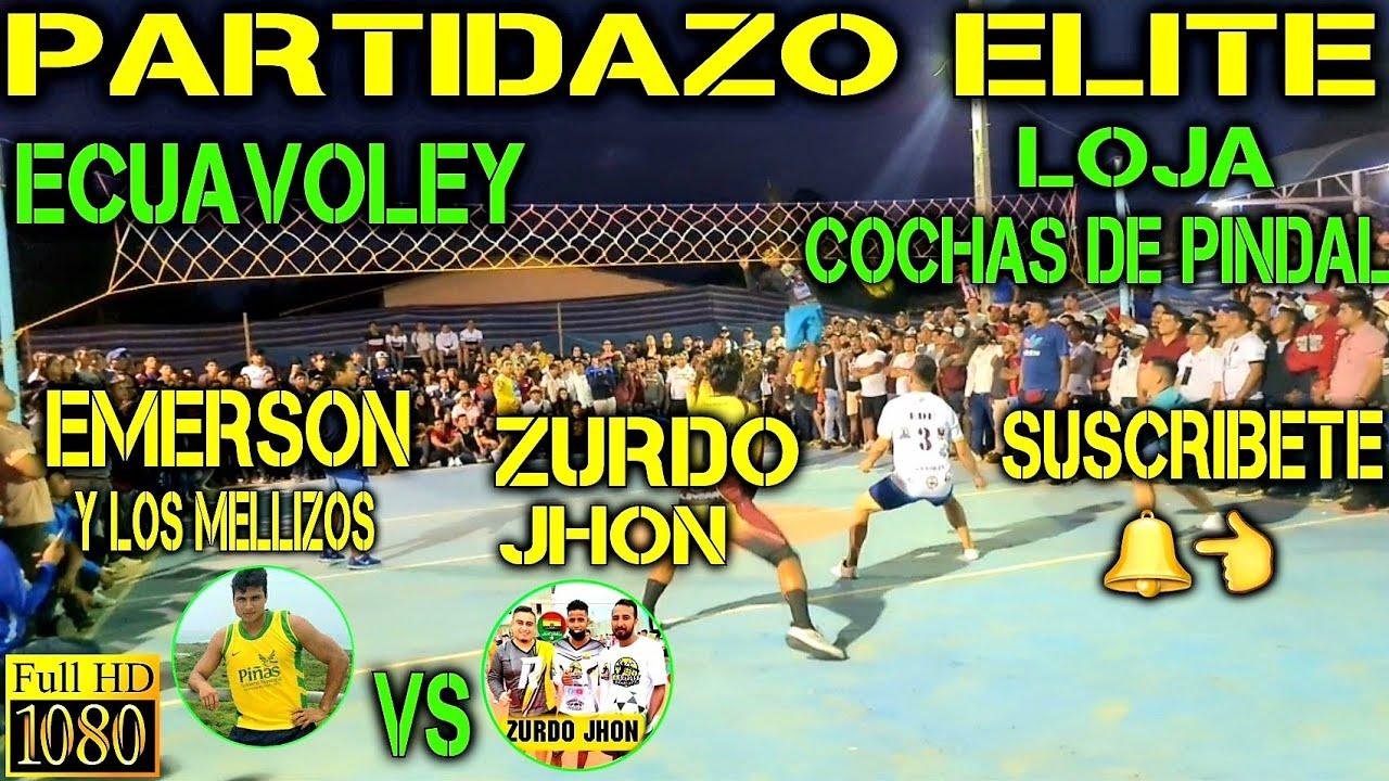 Download ECUAVOLEY PARTIDAZO EMERSON VS EL ZURDO JHON / FULL ACCIÓN 🔥