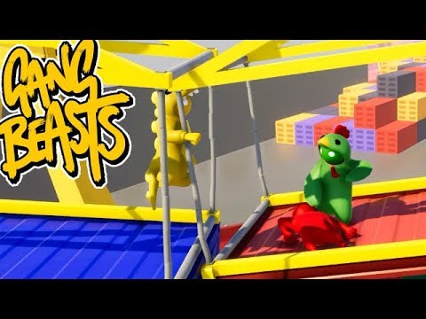 GANG BEASTS ONLINE - I Can Predict Things... [MELEE]