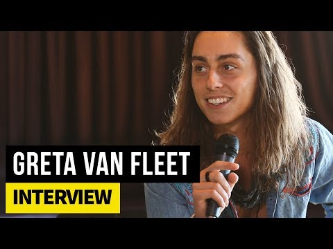 Greta Van Fleet's Jake Kiszka on their childhood upbringing and the renaissance of guitar rock