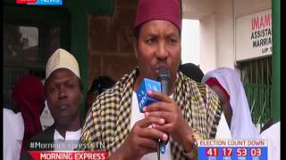 Kiambu muslims support Uhuru, Jubilee support