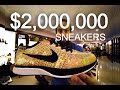 2 Million Dollar Sneakers!! Most Expensive Nike Shoes