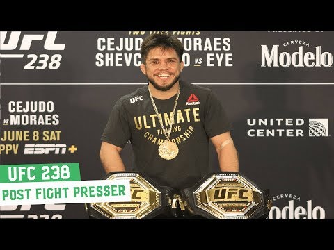 UFC 238 Post Fight Press Conference: Henry Cejudo, Double Champion