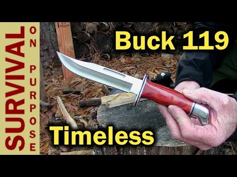 Buck 119 Classic Hunting Knife Review - Well....Sort Of