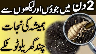Juon or Likhon se Nijat - Anti Lice Treatment at Home | How to Get Rid of Head Lice