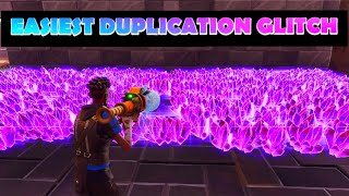 'EASIEST' CRAZY AUGUST DUPLICATION GLITCH FORTNITE SAVE THE WORLD