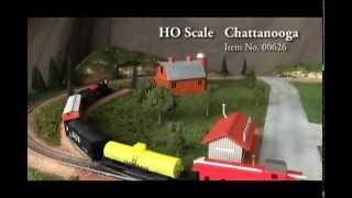 Bachmann Chattanooga Set HO Video