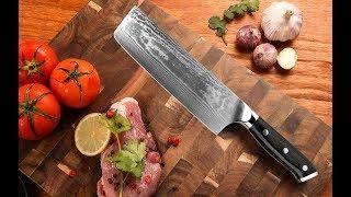 Ножи из дамасской стали с Алиэкспресс