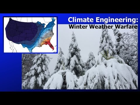 Climate Engineering Winter Weather Warfare