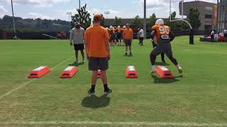 Tennessee Football Practice Highlights (8/17/18)