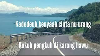Karang hawu ( lirik )- fanny sabila & malik ibrahim