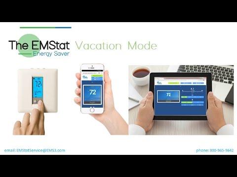 EMStat - using vacation mode