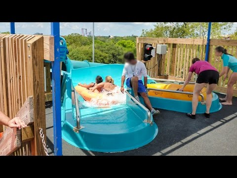 Adventure Island Tampa - Aruba Tuba Waterslide Onride POV