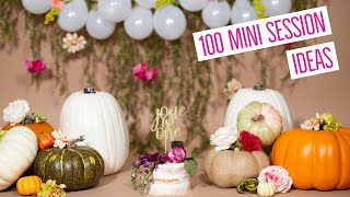 100 MINI SESSION IDEAS - Professional Children's Photography Tips, Tricks, and Ideas