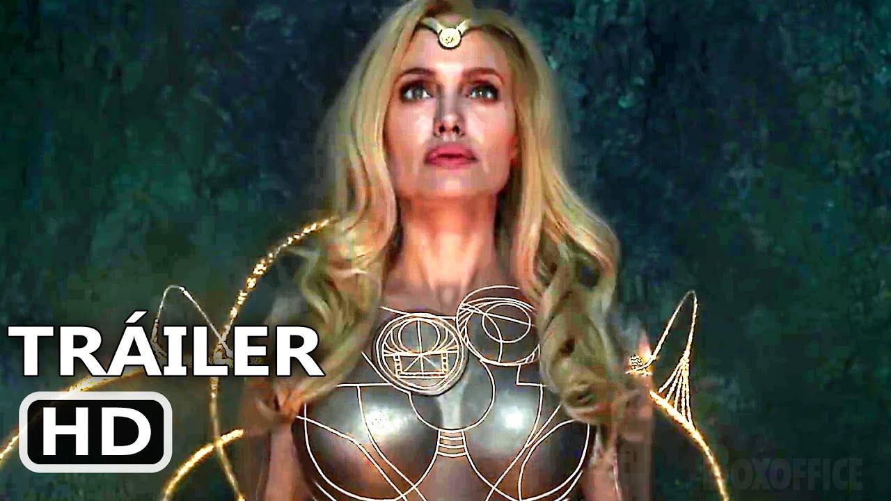 Download ETERNOS Tráiler Español Latino DOBLADO 2 (Nuevo, 2021) Angelina Jolie, MCU