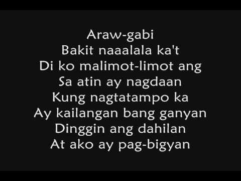 Muli By Bugoy Drilon (with lyrics)