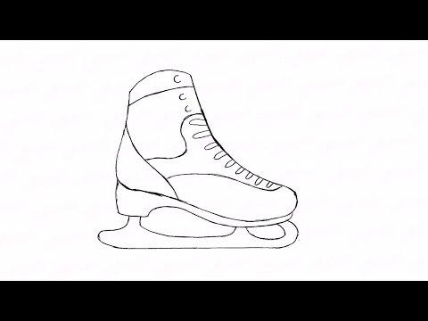 Как нарисовать фигурные коньки: инструкция от EvriKak
