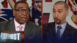 Nick Wright and Cris Carter preview Patriots vs. Chiefs AFC Championship   NFL   FIRST THINGS FIRST