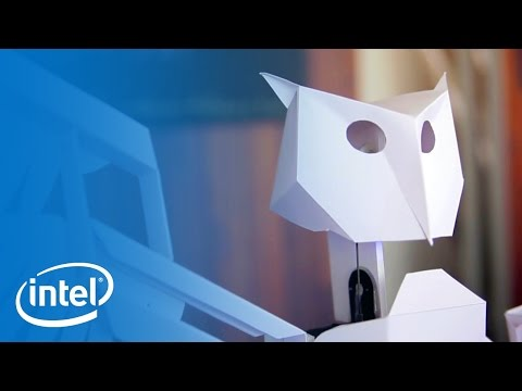 Papercraft with Worry Birds | Meet The Makers | Intel