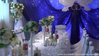"""Украшение зала в кафе """"Пекин"""". Оформление свадьбы./Hall decoration. Wedding decoration."""