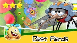 Best Fiends - Puzzle Adventure Walkthrough Super Adorable Game Recommend index three stars