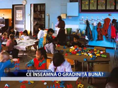 CE INSEAMNA O GRADINITA BUNA (Columna Tv)