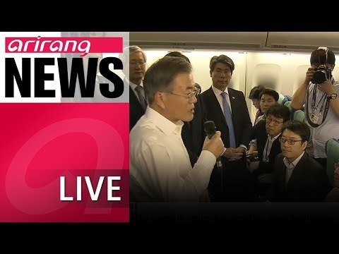 [LIVE/NEWS] Trump says he will give Kim everything wants following denuclearization: President Moon