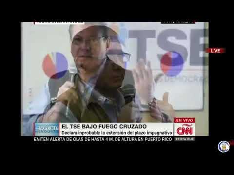 Fernando del rincón EN VIVO POR CNN Entrevista a Juan Orlando Hernandez
