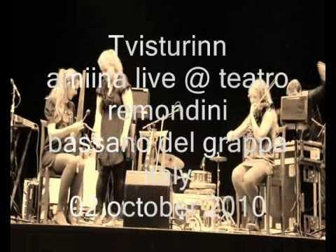 "AMIINA ""sicsak"" 02october2010 ""Teatro Remondini"" Bassano del Grappa - Italy HQ audio HD"