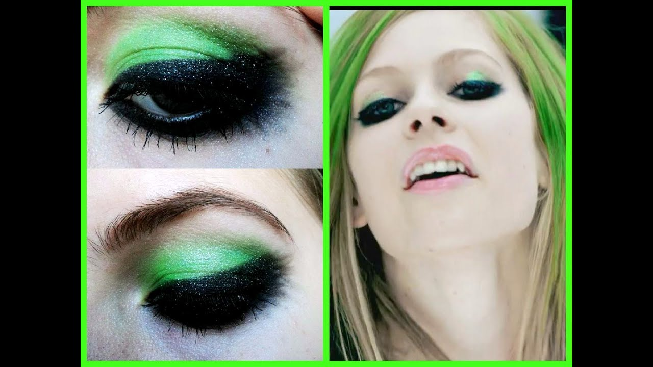 Tutorial Make Up Verde Dramtico By Ayerim Youtube